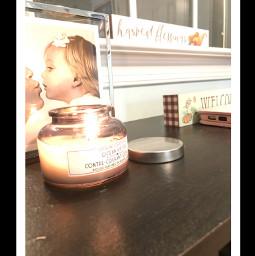 asthetic candle