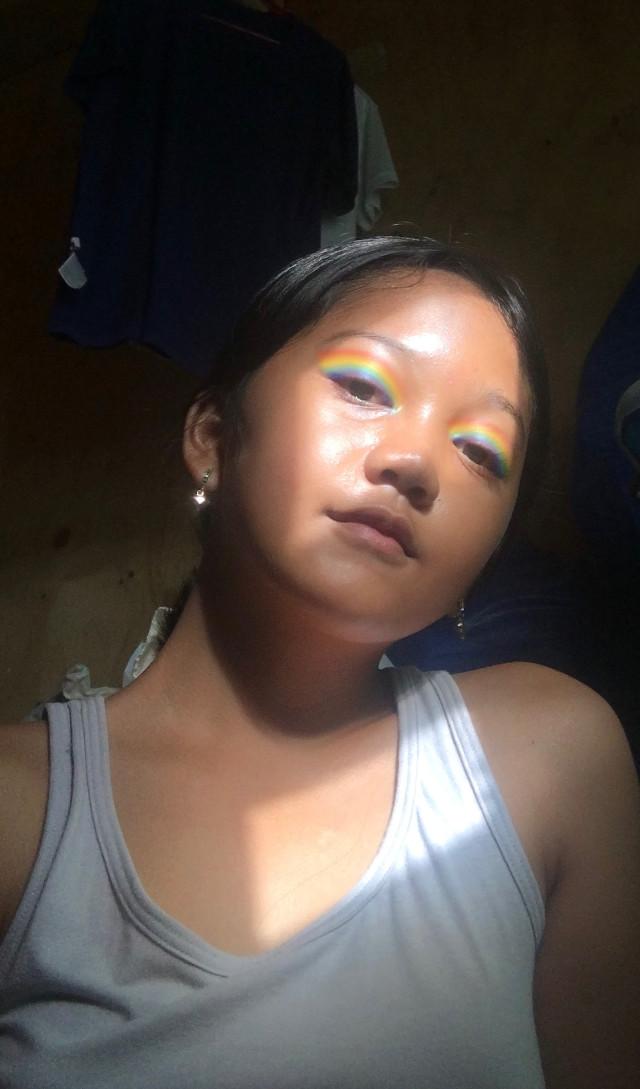#rainbowmakeup
