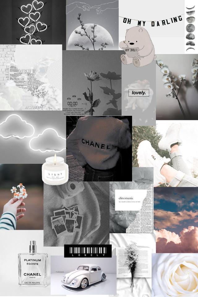 #wallpaper #aesthetic #white #whiteaesthetic #aestheticwallpaper #whitewallpaper #bear #book #chanel  #clouds #books #rose #flowers #quote #heart #car #retro #sky #shoes #candle #perfume #whiteflower #whitecar #whiteheart #grey