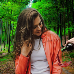 picsart multicolor creative amazing beautifuledit love girl woman nature green myedit forest freetoedit