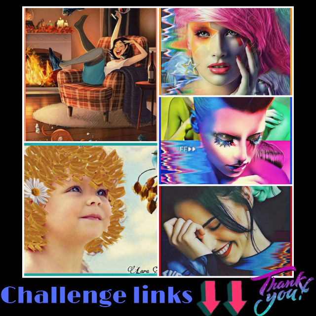 #Challenge links 😉👇👇 Diseña el calzador de tus sueños https://picsart.com/i/344293283025201?challenge_id=5fbb899f15d50e0024c0f7ff Lazos pintados https://picsart.com/i/344362098088201?challenge_id=5fbb8eac9c77d900560d0808 Collage Glitch 1️⃣https://picsart.com/i/344396595003201?challenge_id=5fbb90c58c07fb000f43e53b 2️⃣https://picsart.com/i/344390092035201?challenge_id=5fbb90c58c07fb000f43e53b 3️⃣https://picsart.com/i/344404739095201?challenge_id=5fbb90c58c07fb000f43e53b Thank you so much and good luck!!! 🙏😊🌹🤗🍀😉