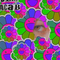 indie eye flowers neon acab blm freetoedit ircataglance ataglance