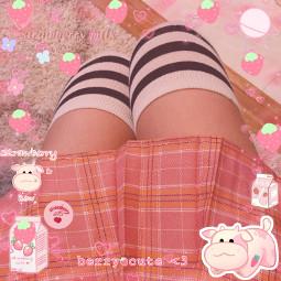 pinkaesthetic softaesthetic pastelpink girly cuteedit cuteaesthetic jfashion miniskirt cuteclothes freetoedit