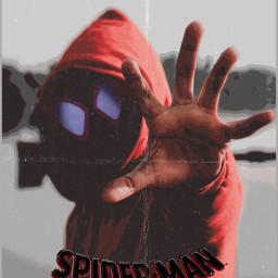 unsplash poster movie game spiderman milesmorales spiderverse spidermanintothespiderverse comic comicbook male boy red color cinema book animation art marvel freetoedit