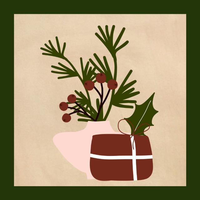 #christmasvibes #christmasiscoming #Stilllife #vase #composition