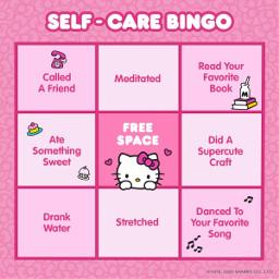 freetoedit peepeepoopooweeweeayoayoay bingo health sanrio checkin checkingin selfcare positivity pink cute care self