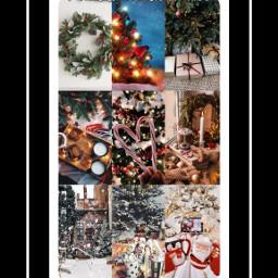 christmas candycane santa aestheticgirl aesthetictumblr aestheticwallpaper