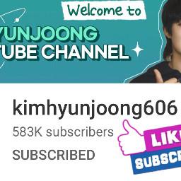 kimhyunjoong youtube kimhyunjoong606 freetoedit