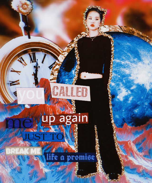 "🌚open for edit info🌚  🌞Quote: ""you called me up again just to break me like a promise"" ⭐️Time Taken: 20 minutes 🌞Follower Count: 184 ⭐️Note: I love this edit, I hope you have a great day, if you celebrate Christmas then it's only 23 days away  🌞Inspo: I was inspired by @jadez_edits ⭐️Celebrity: None    ~taglist~ 🌝@boop_drawz 🌚@-lcvely- 🌝@starsxeditz 🌚@coralblossom 🌝@annernannanerrrrrr 🌚@-fairypastelz- 🌝@luv-ssi 🌚@hisokasthirdnipple 🌝@cupidluhv- 🌚@samgarevalo9 🌝@death_eater-tribute 🌚@emilygilbertw 🌝@carolina_editz- 🌚@cla_6699 🌝@blacklivesmatter_art 🌚@hqrgreeves- 🌝@hollipolliyozza 🌚@gay_wallpaper 🌝@shslslmp 🌚@volente926 🌝@that-sxftie 🌚@emmaweasleyy 🌝@_creepypasta-avatar_ 🌚@astrid_the_owl 🌝@_ya_gorl_hailey_ 🌚@undertale-frans 🌝@ruelfqn 🌚@shines_way_downtown 🌝@okllamas 🌚@avani_0810 🌝@abbibagel_ 🌚@hanseij 🌝@17mink17 🌚@nctzen_kpop 🌝@gikuraffa 🌚@fm18358 🌝@sophiajolene  🌚@pastell_angel 🌝@_kinda_asethetics_ 🌚@lgbtqiapd 🌝@honeyiknow 🌚@sleepy_birb 🌝@jans24 🌚@-mar2- 🌝@sthmhs_2246 🌚@mailinglol 🌝@bananafxsh 🌚@mariam_137 🌝@hqney-lush 🌚@aditings 🌝@volente926  Comment 🌚 to join, ⭐️ to be removed, and 🌞 for username change   #aesthetic #aestheticedit #aesthetictext #moon #clock #sticker #stickers #mountains #colorful #retro #retroaesthetic #retroeffect #retrostyle #space #galaxy #galaxyedit #piscart"