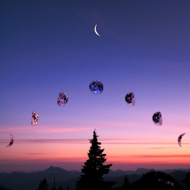 🌙https://picsart.com/i/344642887014201?challenge_id=5fbf85368aceb8005ce9b214🌙  #moon #moons #luna #lune #mooncycle #ciclolunar #ciclolunare #forest #tramonto #dawn #dawnsky #freetoedit #srcmoonaesthetic #moonaesthetic