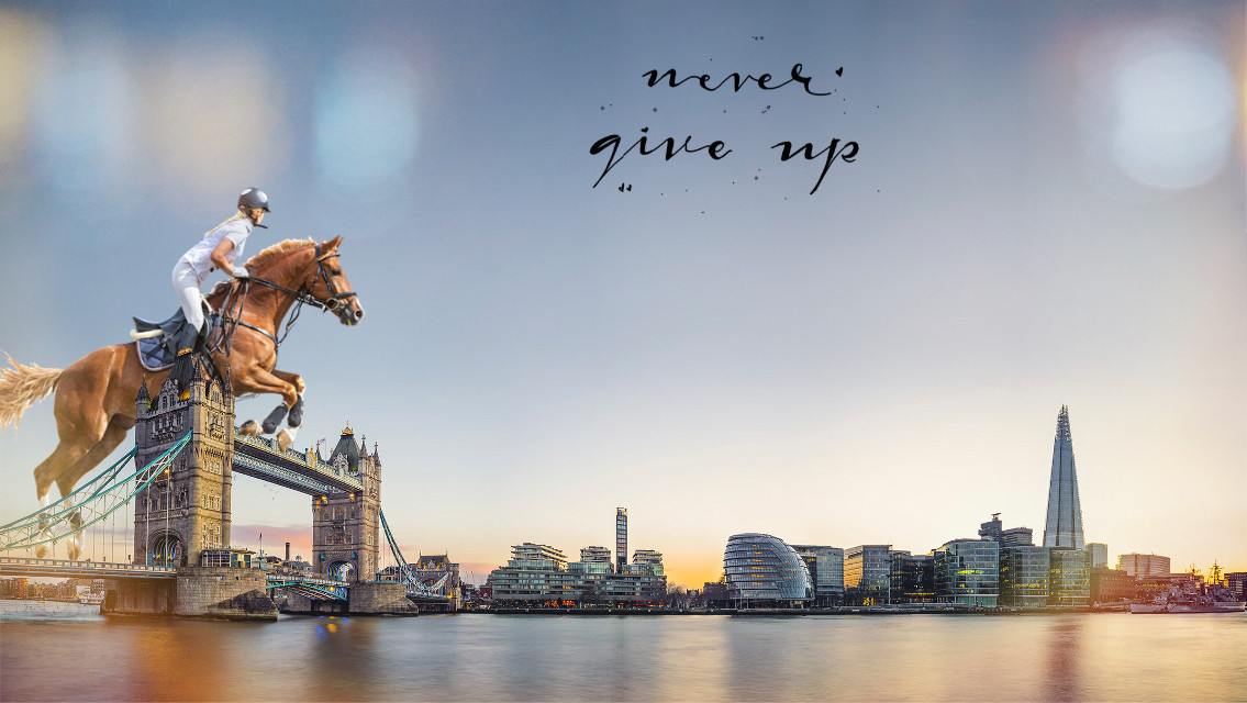 #horse #jump #london #bridge #londonbridge #horsejumping #horsejump #cavalli #cavallo #londra #ponte #saltoostacoli #nevergiveup  #freetoedit #ecimagineabrighterreality #imagineabrighterreality