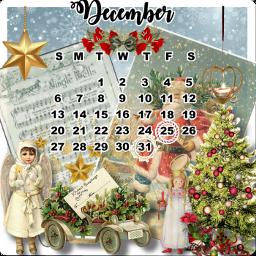 challenge calendarchallenge december santa christmas freetoedit