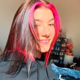 charli charlidamelio char dunkin viral famous queen pink hair happy beautiful avani zoe addison crown freetoedit