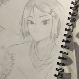 anime drawing doodle art traditionalart animeart sketch kenma kenmakozume kozumekenma nekoma kenmadrawing kenmadrawings haikyuu haikyu haikyuufanart redraw