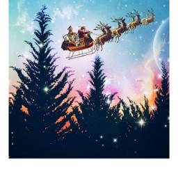 freetoedit remixit christmas mrlb2000 madewithpicsart santaclaus christmasgreetings sweet magic happyholidays
