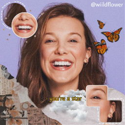 millybobbybrown milly aesthetic wiildflower requested freetoedit
