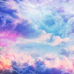 sky skybackground clouds cloudsandsky colorful colorfulbackground freetoedit