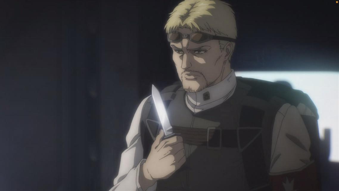 reiner in SEASON 4 EP 1 lord have mercy 🧎♀️ #attackontitan #aot #reinerbraun #reiner #anime
