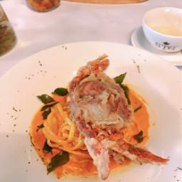 crab softshellcrab spaghetti curryspaghetti lunchtime
