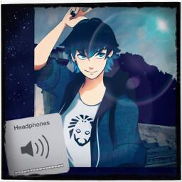 luka coffaine cofaine miraculousladybug mlb music stars blue selfie nofilter lotsoffilters cute cuteboy headphones peace peaceout chill boi teen freetoedit