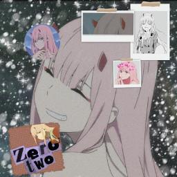 zerotwo darling darlinginthefranxxx uwu anime otaku kawaii freetoedit