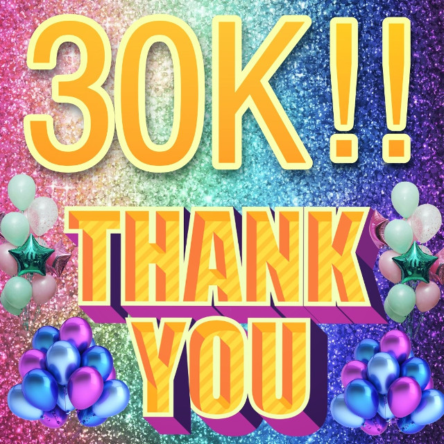 Thank you so much for all the love and support ❤️💕😍 30 K!!! Finally ❣️