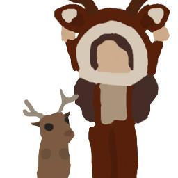 deer roblox adoptme drawing dancing freetoedit