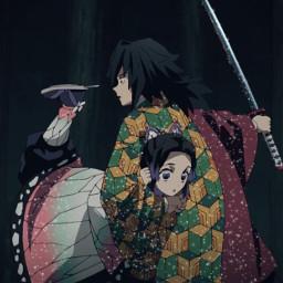 demonslayer kimetsunoyaiba kny manga anime giyuu giyuutomioka tomioka tomiokagiyuu shinobu kochoushinobu shinobukochou kocho shinobukochō freetoedit