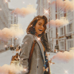 freetoedit sparkles clouds cloudaesthetic aesthetic