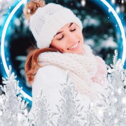 freetoedit christmas holidays happyholidays holidayvibes neon neonvibes neonlove neonshape christmastree snowy
