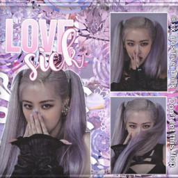 rosé roseblackpink howyoulikethat purple complexedit rosecomplexedit blackpink donotsteal thealbum