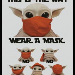 shines_way_downtownedits edit edits mask collage wearamask babyyoda yoda baby masks useamask mandolorian themandolorian waystouseamask freetoedit remixit