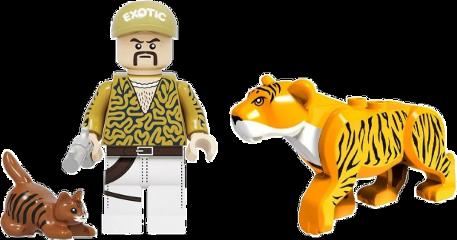 tigerking tiger cat lego toy mullet bigcats carolebaskin freetoedit