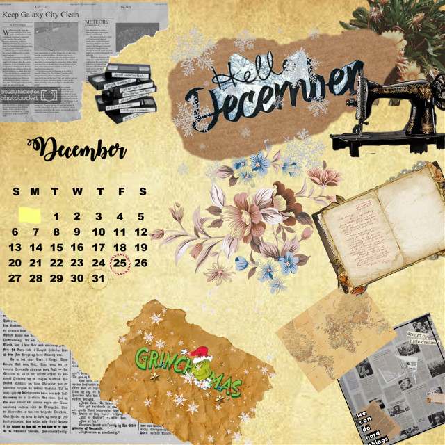 #oldphoto #oldschool #christmas #december2020 #calender #picsart