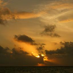 sunset sky clouds naturephotography panorama naturebeauty