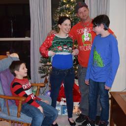 genderreveal surprise family christmas blessed boys momofboys momof3 boymom teamboy picsartchallenge picsart myhandsome handsomeboys pcmyfavoriteday myfavoriteday