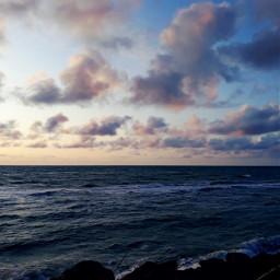 freetoedit sea northsea lønstrup clouds pcmyfavoriteday