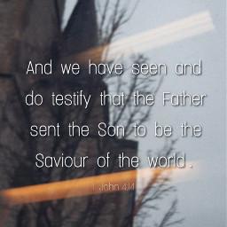 bibleverse saviour