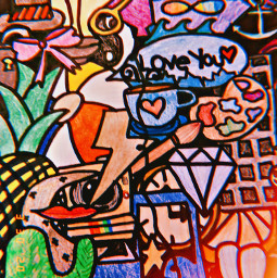 art doodles doodle doodlepage color