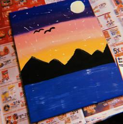 art paint canvas