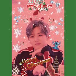 hongseok hongseokedit hongseokpentagon pentagon kpop christmas freetoedit