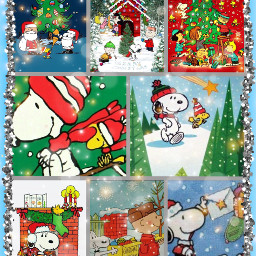 snoopy snoopychristmas charliebrown charliebrownchristmas snoopyandcharliebrown freetoedit
