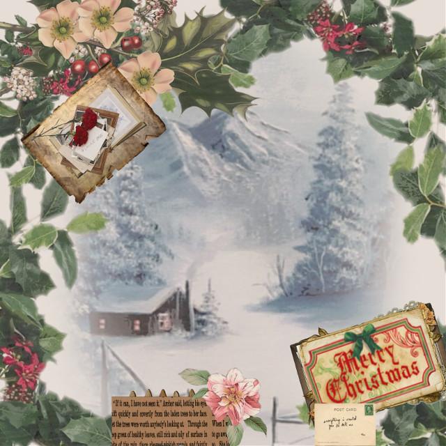 #chrismas #old #snow #merrychristmas
