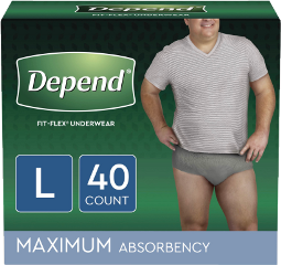 depend diapers men incontinence freetoedit