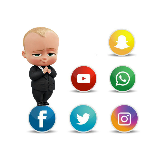 #remix #satire #bossbaby #facebook #icons