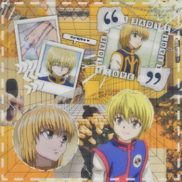 hunterxhunter hunterxhunter2011 hunterhunter hunterxhunteredit kurapika kurapikakurta kurapikahxh kurapikaedit anime animeedit collage animecollage yellowcollage yellowaesthetic freetoedit