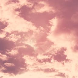 nature earlyinthemorning sunrisesky pinksky skywithclouds freetoedit