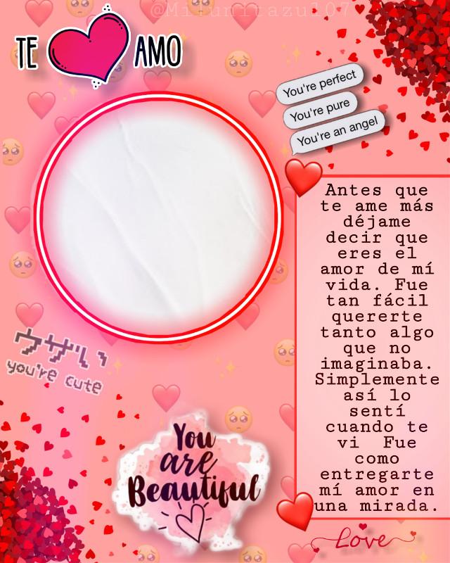 #amor #love #teamo #iloveyou #teamo😍 #iloveyou❤ #rojo #red #rosso #amore #fondo #fondoslindos #fondoskawaii #fondosdepantalla♡ #fondostumblr #fondosdepantallalindos #parati #kawaii #corazon #corazon❤ #kokoro #novio #novia #girlfriend #boyfriend