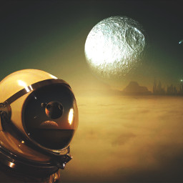 astronaut madewithpicsart fantasy surreal universe scifi