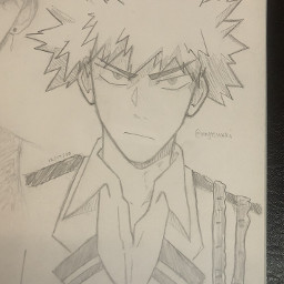 anime drawing doodle art traditionalart animeart sketch bakugoukatsuki bakugo bakugokatsuki katsukibakugou katsukibakugo mha myheroacademia bnha bokunoheroacademia bakugofanart